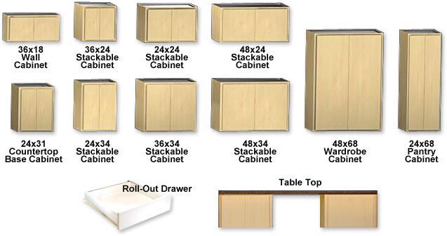 Classic Series Garage Storage Cabinets Slide Lok Of